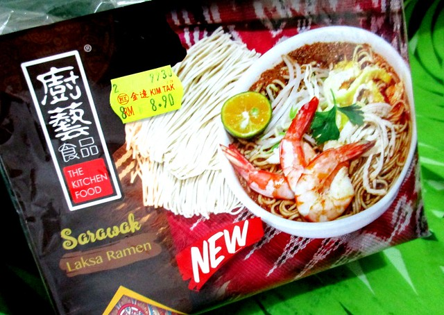 The Kitchen Food Sarawak laksa ramen