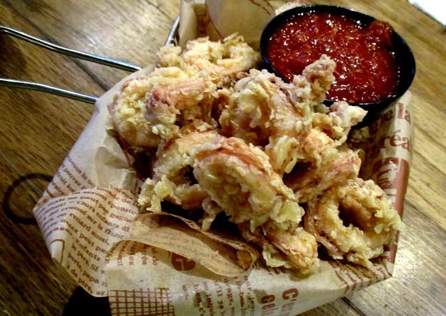 Caffeine Cafe calamari fritti