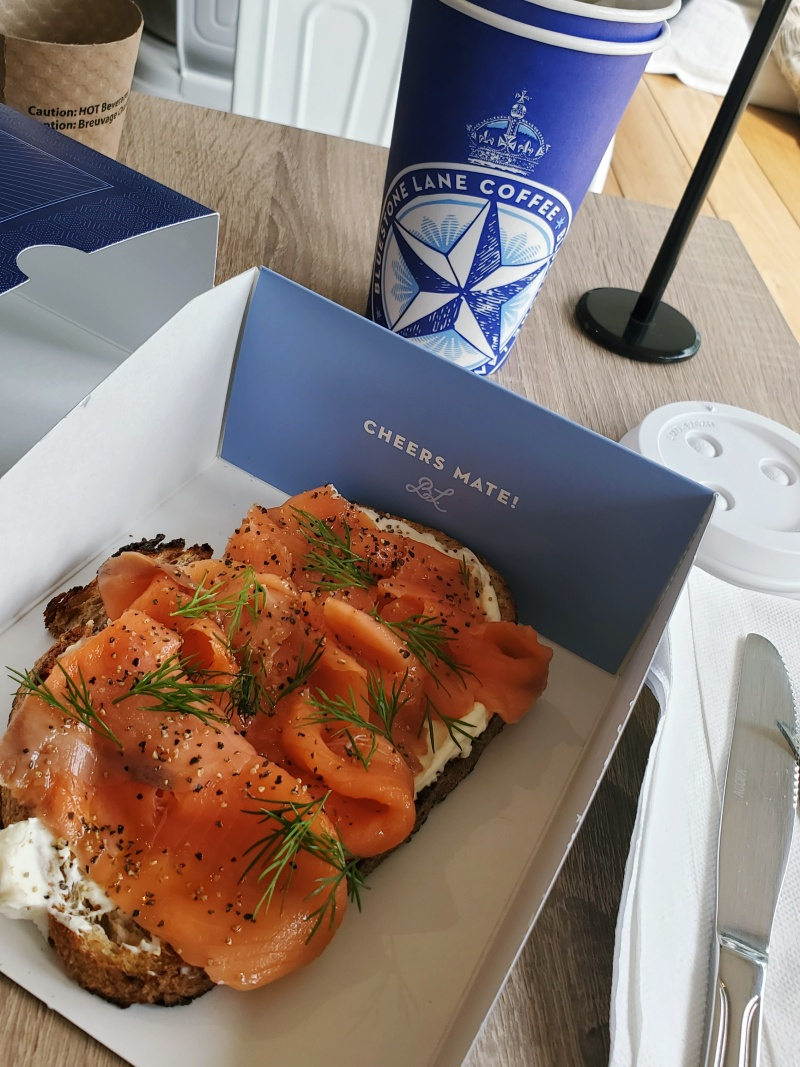 Bluestone Salmon Toast