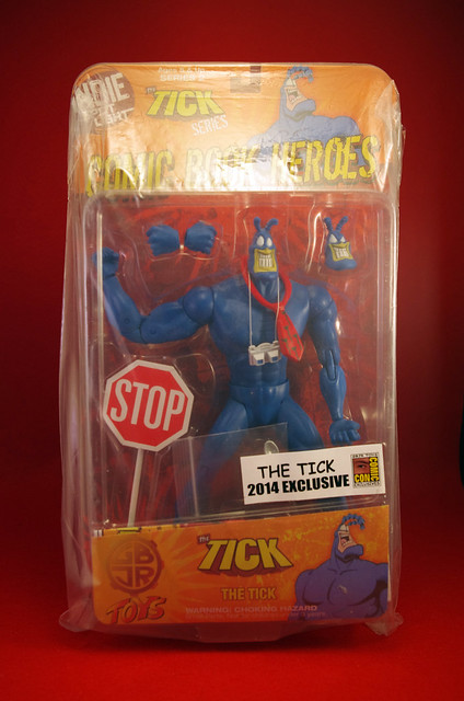 The Tick 2014 San Diego Comic Con GBJR Action Figure (Front)