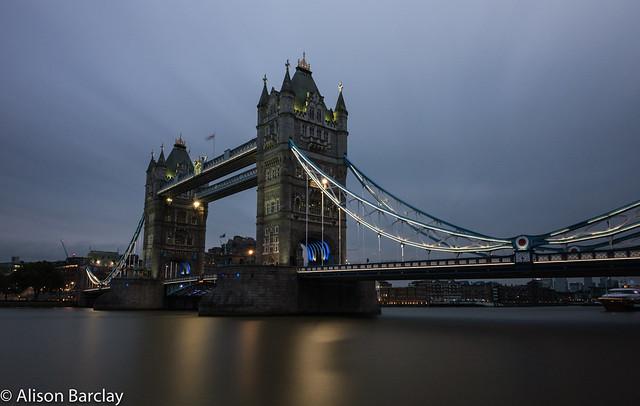 Tower Bridge Long Exposure