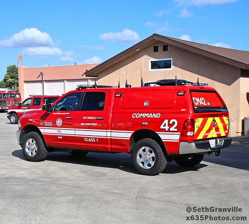 Los Angeles Fire Department Command 42 Photo