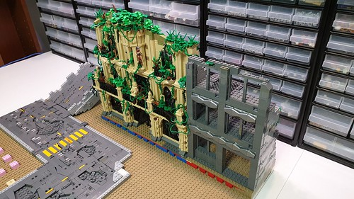 WIP pictures of my postapocalyptic scene for Swebrick Master Builder 2019 | by Zilmrud