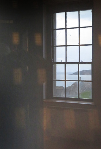 Window in Charles Fort in Kinsale, Ireland