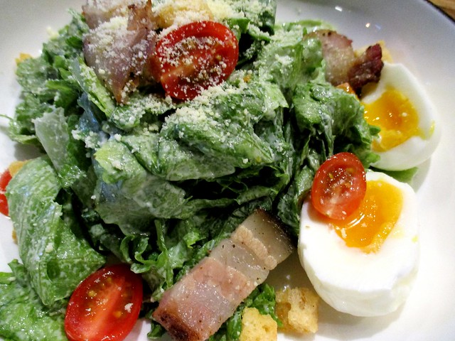 Caffeine Cafe ceasar's salad