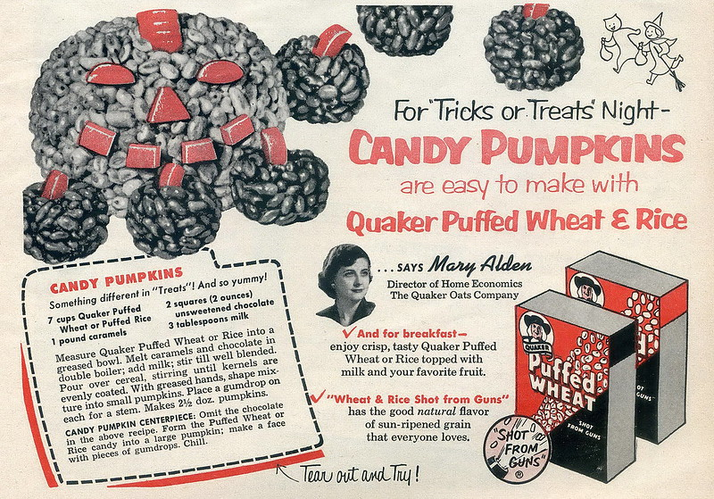 Quaker 1953 Halloween