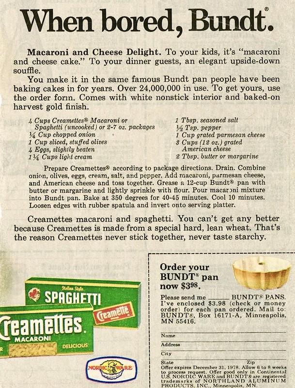 Creamettes 1978