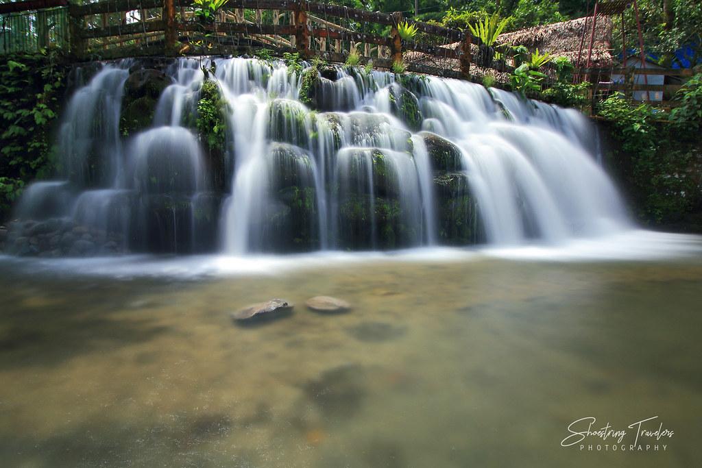 man-made falls inside Dalitiwan Resort, Majayjay, Laguna