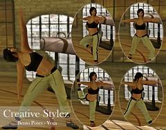 Creative Stylez - Bento Poses - Yoga -