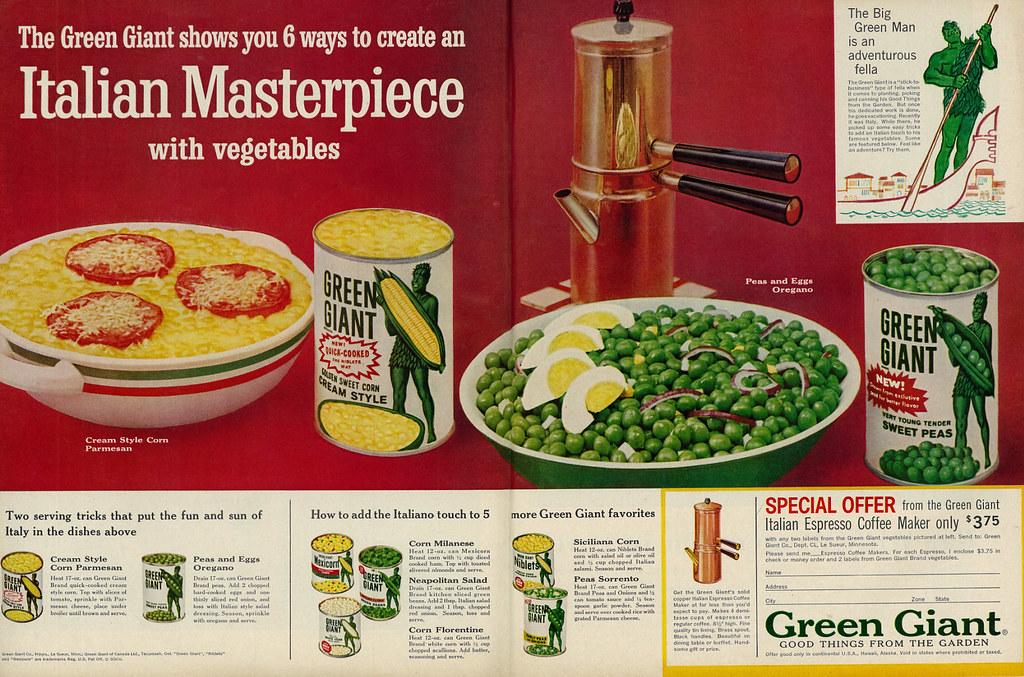 Green Giant 1961