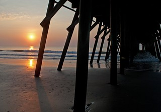 Sun, Sand, The Pier and The Tide