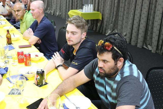 Sundar, Mick, Aaron and Mathew