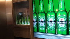 Enjoying the Heineken Experience