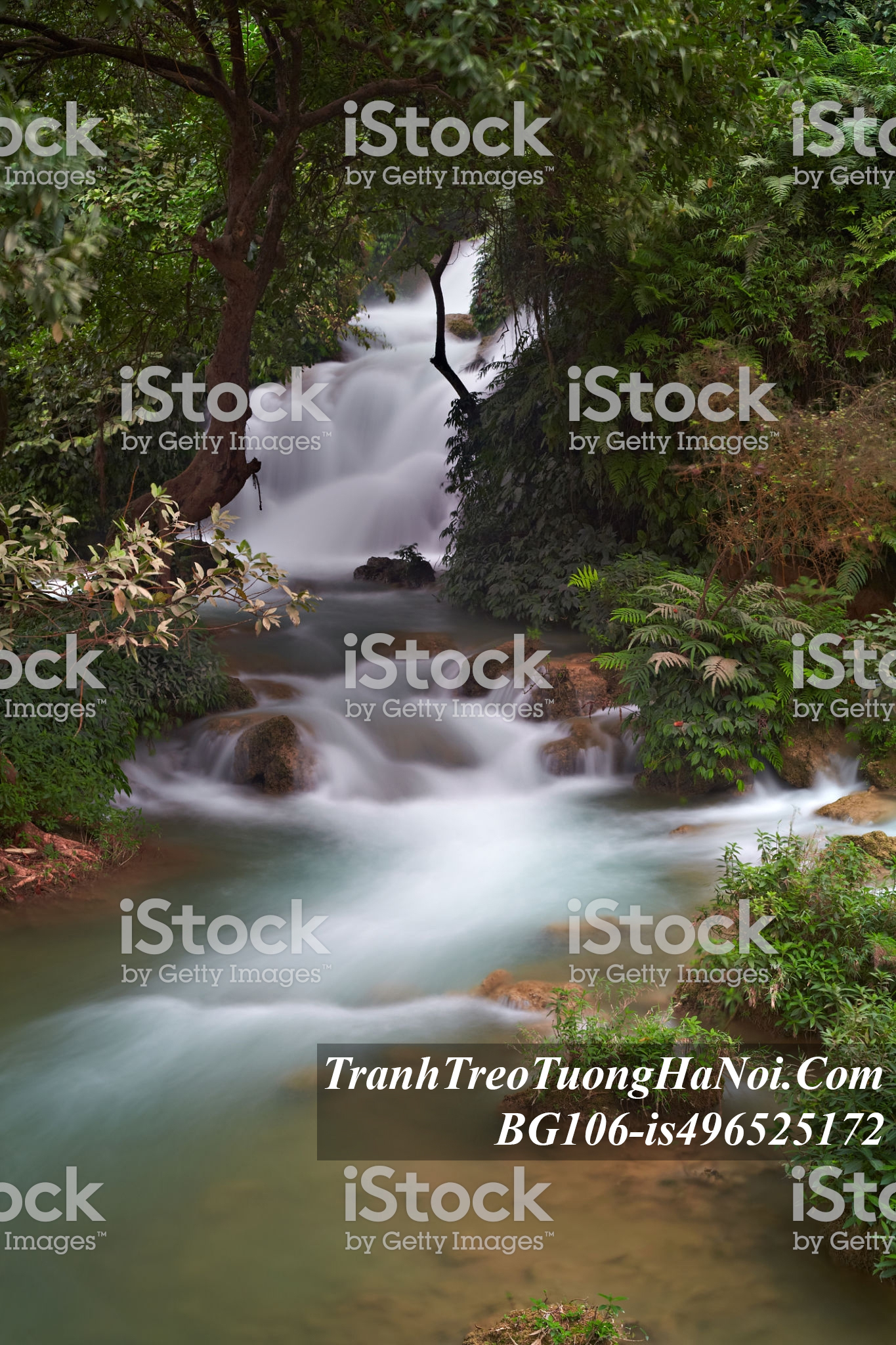 Tranh thac nuoc ban gioc kieu dung amia BG106-is496525172