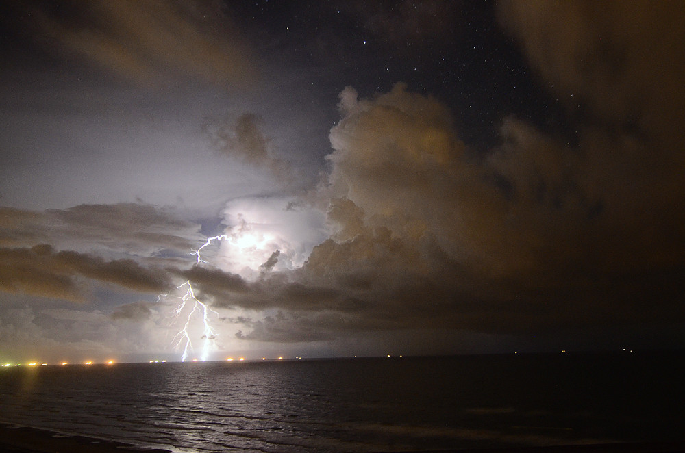 Gulf of Mexico Thunderstorm