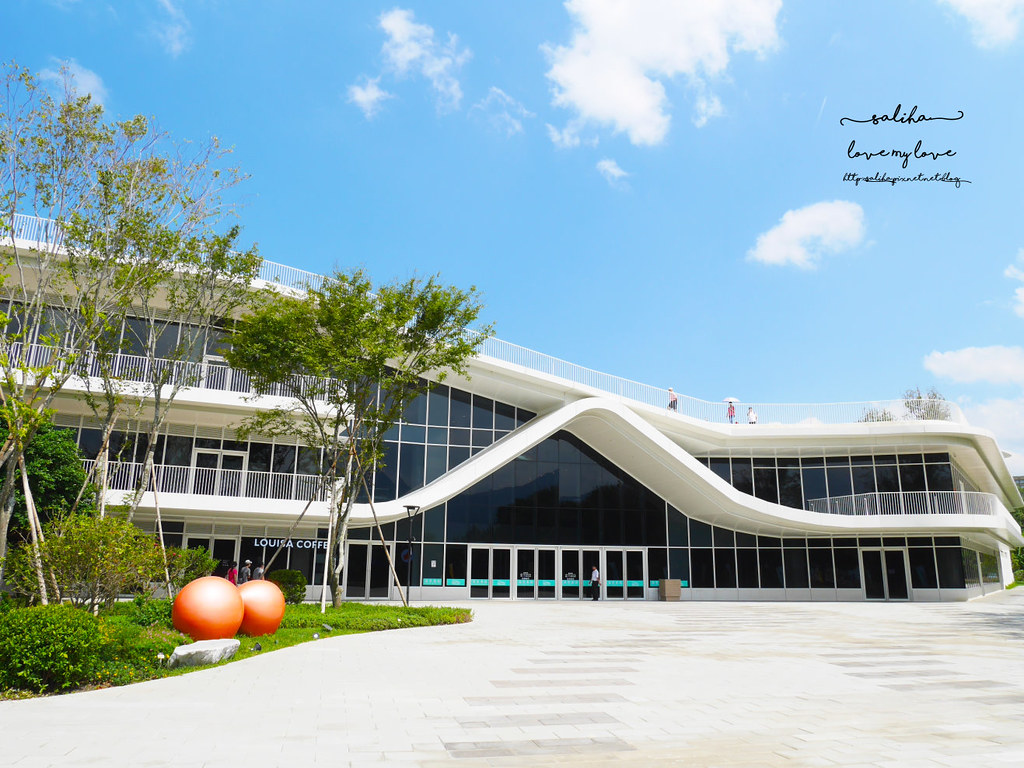 淡水老街紅毛城附近景點推薦滬尾藝文休閒園區購物好拍照景點 (1)