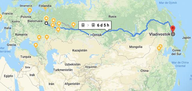 Mapa Transiberiano-3