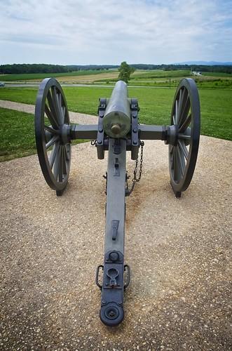 Cannon near Eternal Light Peace Memorial