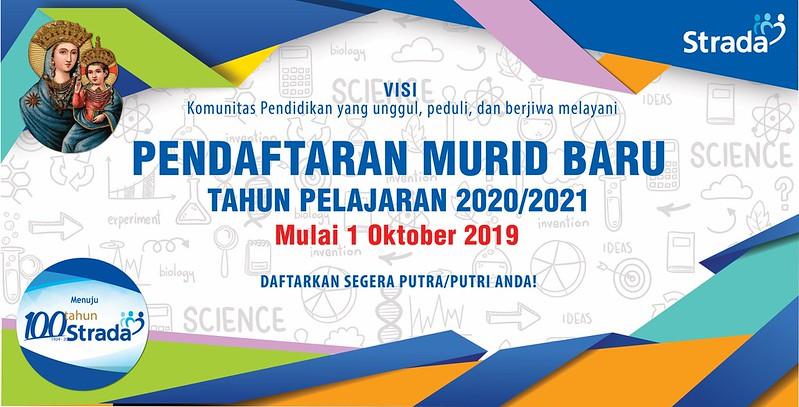 Penerimaan Murid Baru Tahun Ajaran 2020-2021