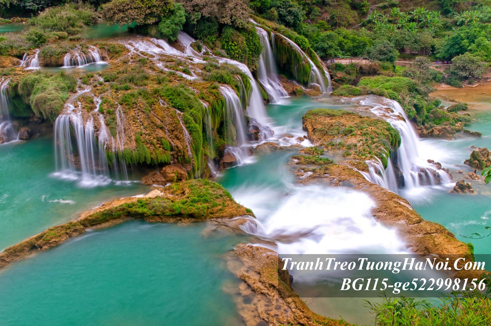Phong canh thac nuoc dep treo phong khach BG115-ge522998156