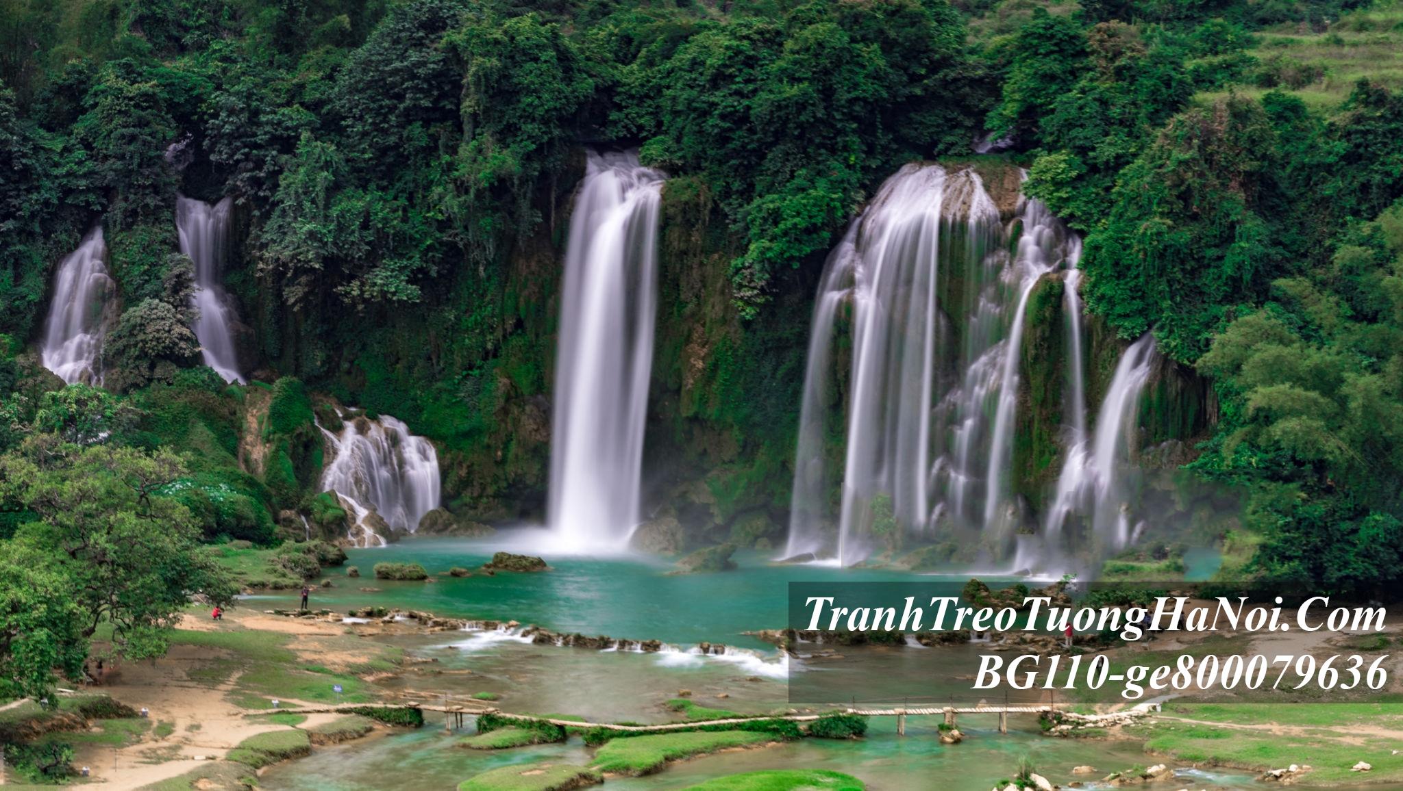 Phong canh thac nuoc dep treo phong khach amia BG110-ge800079636