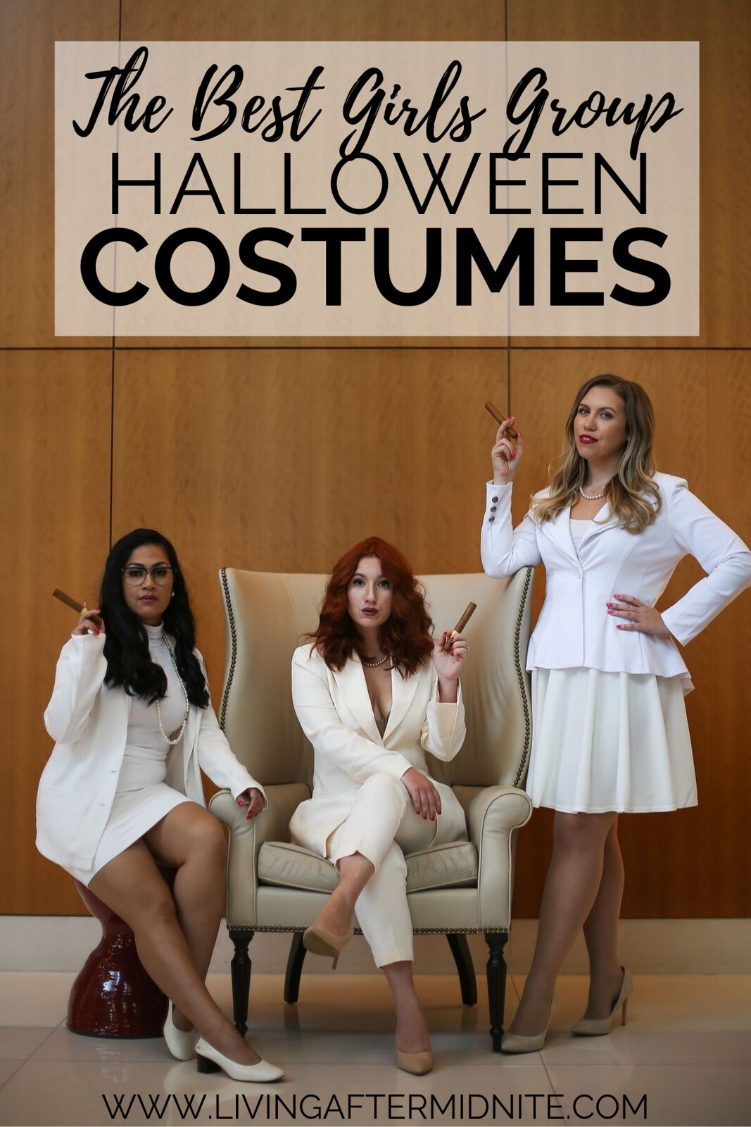 The First Wives Club Halloween Costume | The Best Girls Group Halloween Costume | Movie Themed Halloween Costumes | Best Friends Halloween Costume