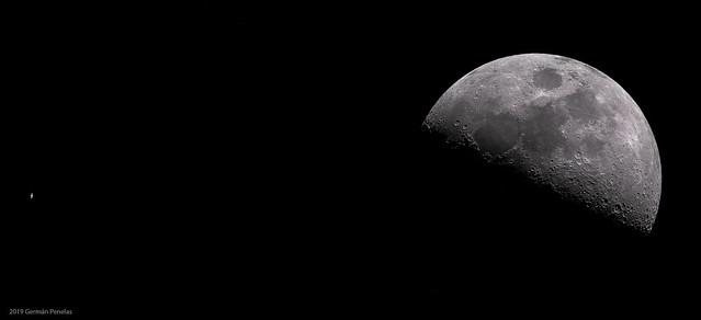 2019 Saturno y Luna