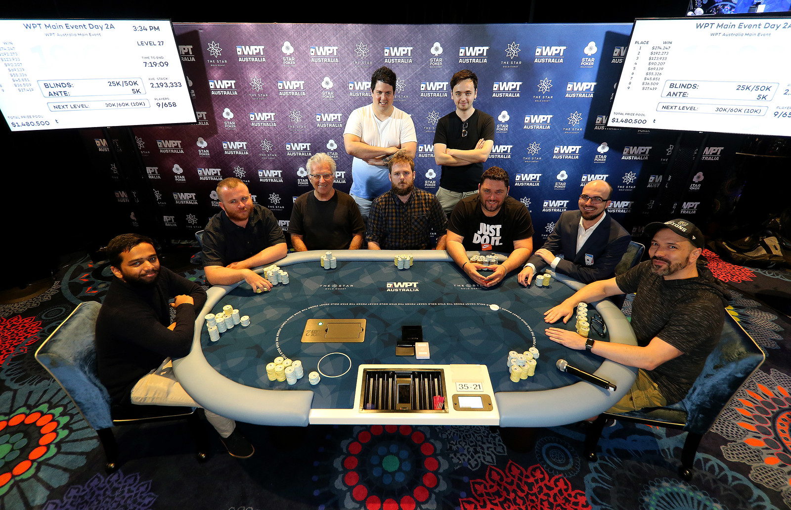Final Table Begins Soon Hari Varma Leads The Final Nine Wptdeepstacks Wpt Australia Season 2019 2020 3 5 000 25 000 50 000 World Poker Tour