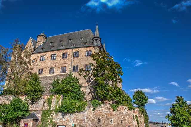 Marbourg, le chateau