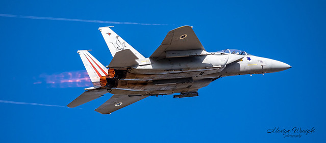 Israeli Air Force F15C Eagle