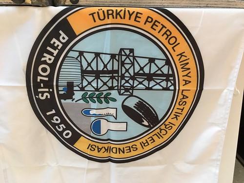 圖07.地主工會土耳其化學能源總工會(Petrol-is)會旗