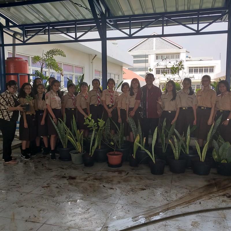 SMP Mardi Utama 1 Peduli Ozon