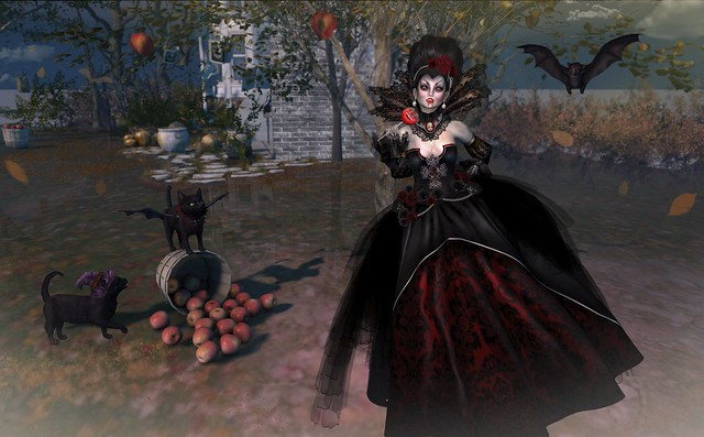 Who says a upstanding vampiress can't have a candied apple once in awhile?