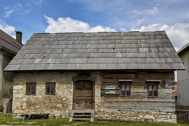 Goranska kuća Vesel u Prezidu