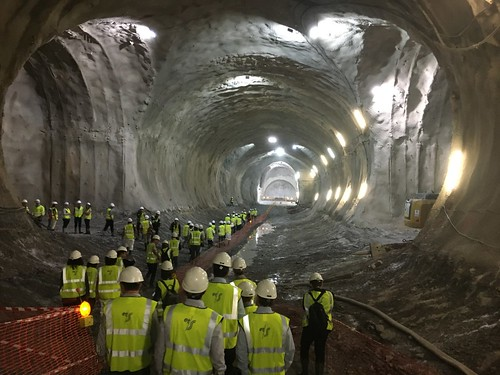 The first hole-through of the San Sebastian Metro system has been successfully completed