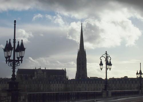 Rain over Bordeaux