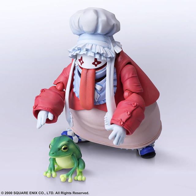 莫古和被吃的青蛙也一同登場!BRING ARTS 6吋可動人偶《FINAL FANTASY IX》艾可&葵娜(エーコ&クイナ)