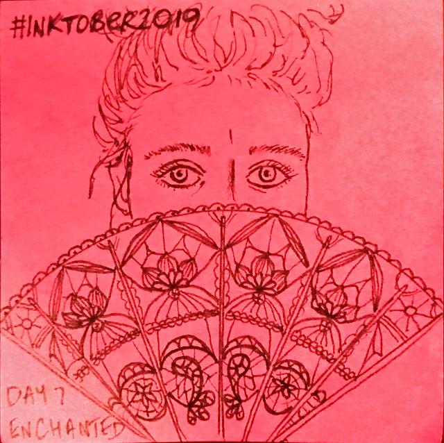 Enchanted #Inktober2019 Day 7
