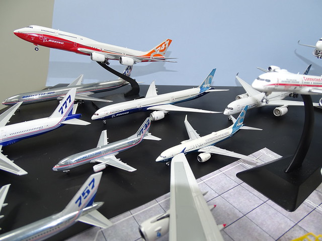 Boeing House Colours 1:400 Scale Model Airliner Fleet