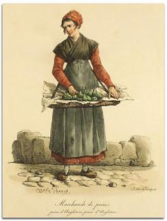 Litho marchande de poires