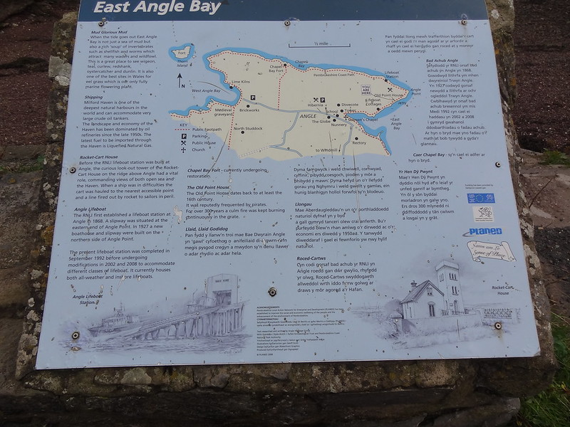 Information Board: East Angle Bay