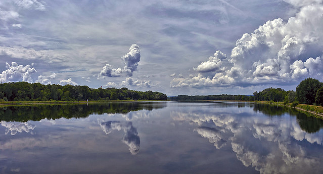 Donauspiegelung