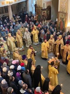 06.10.2019 | Богослужение в Псково-Печерском монастыре