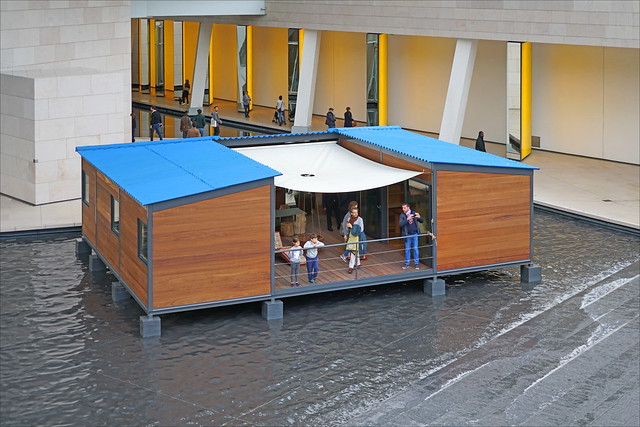 La maison au bord de l'eau de Charlotte Perriand (Fondation Vuitton, Paris)
