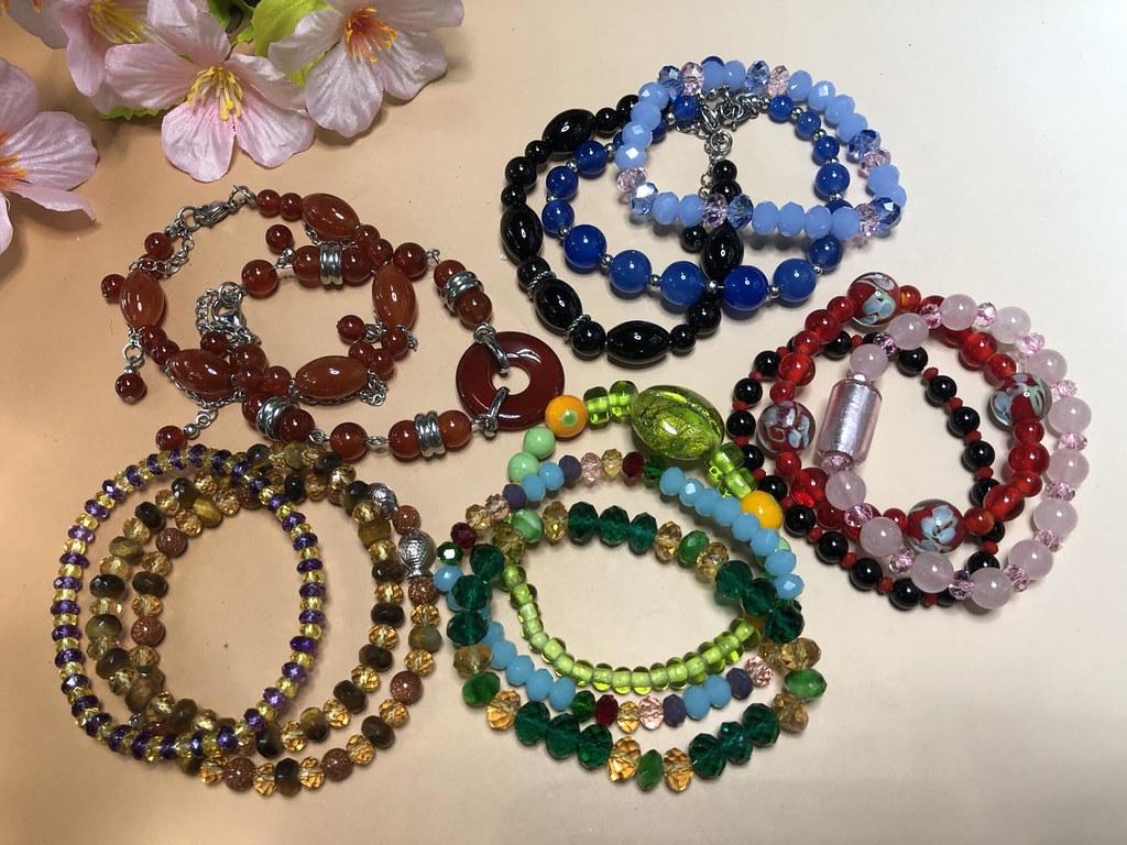 凱達格蘭館展售會DIY - 半寶石琉璃手串創作