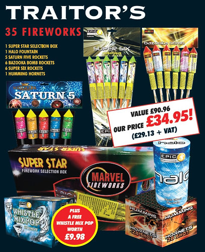 Traitors Fireworks Kit by Epic Fireworks