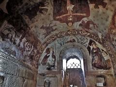 SANTA COMBA, Bande, Orense, Iglesia de Santa Comba. Pinturas del ábside.