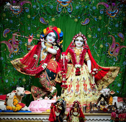 ISKCON Pune NVCC Deity Darshan 07 Oct 2019