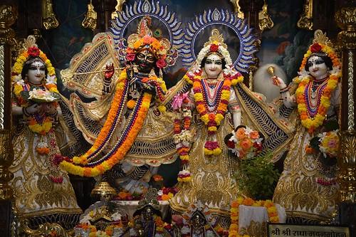 ISKCON Ujjain Deity Darshan 07 Oct 2019