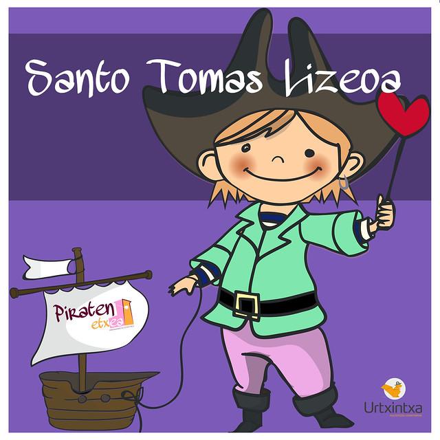 Pirata egonaldia- Santo Tomas Lizeoa 2019.10.17-2019.10.18